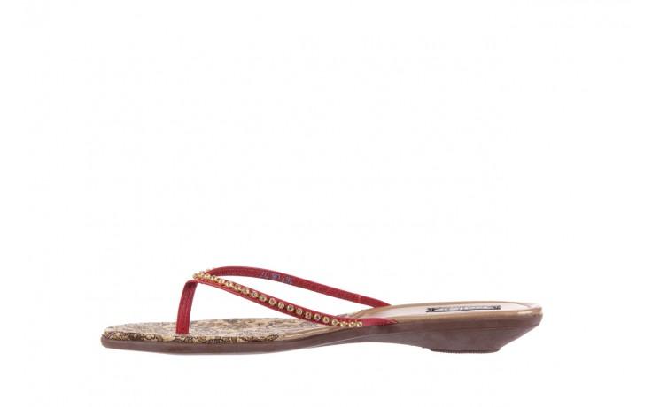Klapki azaleia 121-az100 red, czerwony, skóra ekologiczna  - azaleia - nasze marki 2