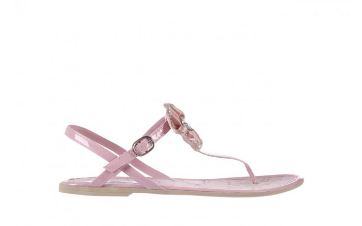 Sandały azaleia 130 132 patent pink, róż, guma - japonki - sandały - buty damskie - kobieta