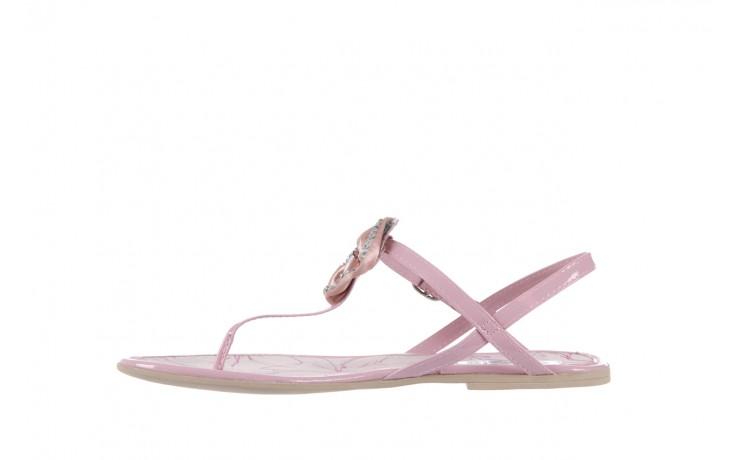 Sandały azaleia 130 132 patent pink, róż, guma - japonki - sandały - buty damskie - kobieta 2