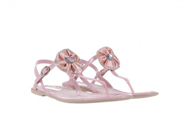 Sandały azaleia 130 132 patent pink, róż, guma - japonki - sandały - buty damskie - kobieta 1