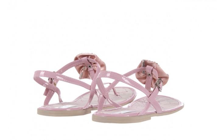 Sandały azaleia 130 132 patent pink, róż, guma - japonki - sandały - buty damskie - kobieta 3