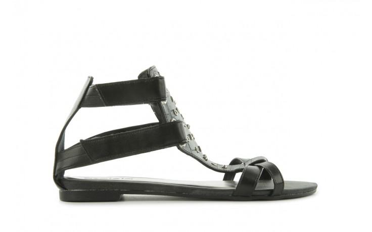 Sandały azaleia 135-az130 black, czarny, skóra ekologiczna  - azaleia - nasze marki