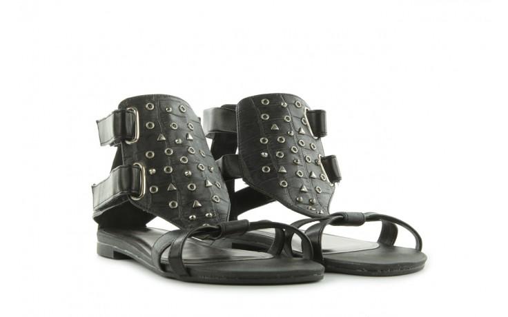 Sandały azaleia 135-az130 black, czarny, skóra ekologiczna  - azaleia - nasze marki 1