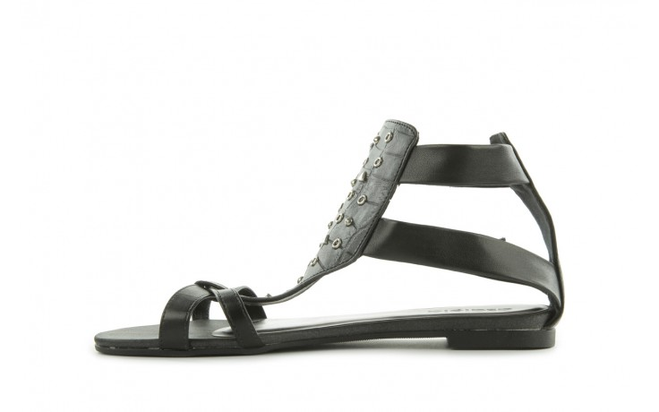 Sandały azaleia 135-az130 black, czarny, skóra ekologiczna  - azaleia - nasze marki 2