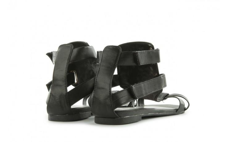Sandały azaleia 135-az130 black, czarny, skóra ekologiczna  - azaleia - nasze marki 3