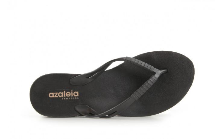Klapki azaleia 229 335 black, czarny, guma 4