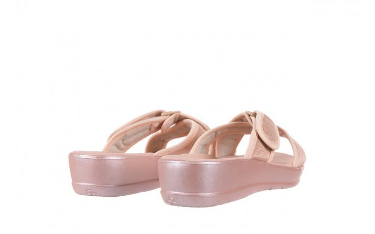 Klapki azaleia 261-street250 pink, róż, materiał - azaleia - nasze marki 3