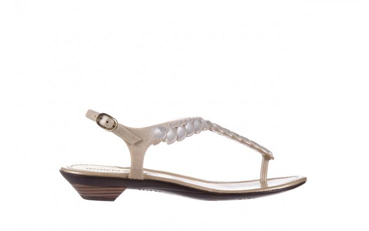 Sandały azaleia 311-grazi300 gold, złote, guma - azaleia - nasze marki