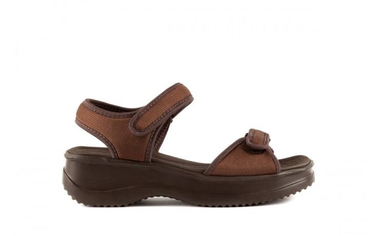 Sandały azaleia 320 321 brown 19, brąz, materiał - azaleia - nasze marki
