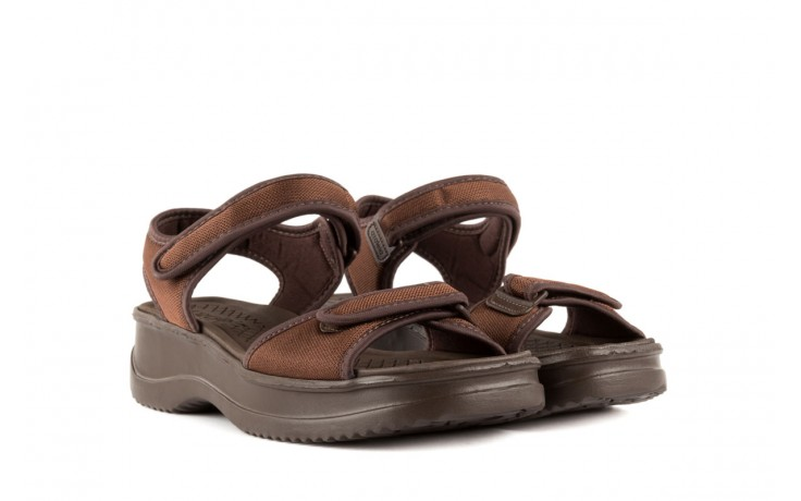Sandały azaleia 320 321 brown 18, brąz, materiał - azaleia - nasze marki 1