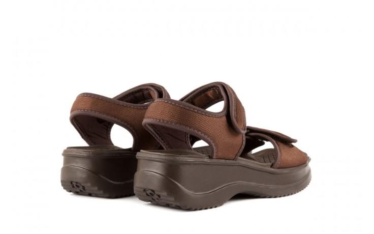 Sandały azaleia 320 321 brown 18, brąz, materiał - azaleia - nasze marki 3