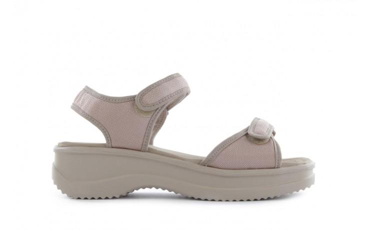 Sandały azaleia 320 321 pearl 18, beż, materiał - azaleia - nasze marki