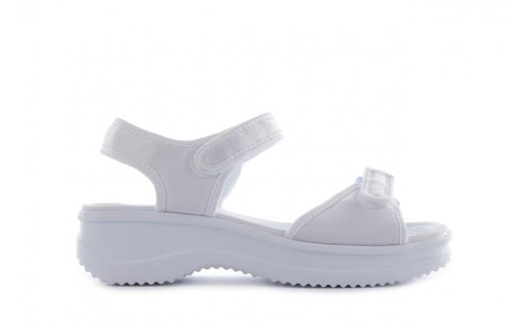 Sandały azaleia 320 321 white 20, biały, materiał - mega okazje - ostatnie rozmiary