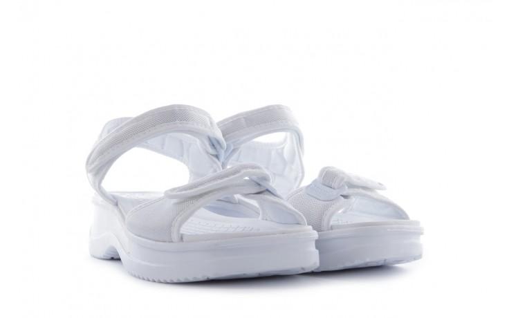 Sandały azaleia 320 321 white 20, biały, materiał - mega okazje - ostatnie rozmiary 1