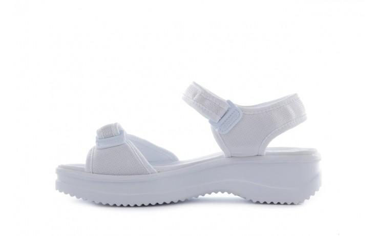 Sandały azaleia 320 321 white 20, biały, materiał - mega okazje - ostatnie rozmiary 2
