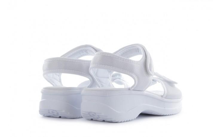Sandały azaleia 320 321 white 20, biały, materiał - mega okazje - ostatnie rozmiary 3