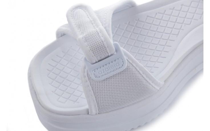 Sandały azaleia 320 321 white 20, biały, materiał - mega okazje - ostatnie rozmiary 5