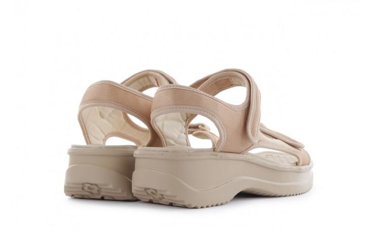 Sandały azaleia 320 323 beige 18, beż, materiał - azaleia - nasze marki 3