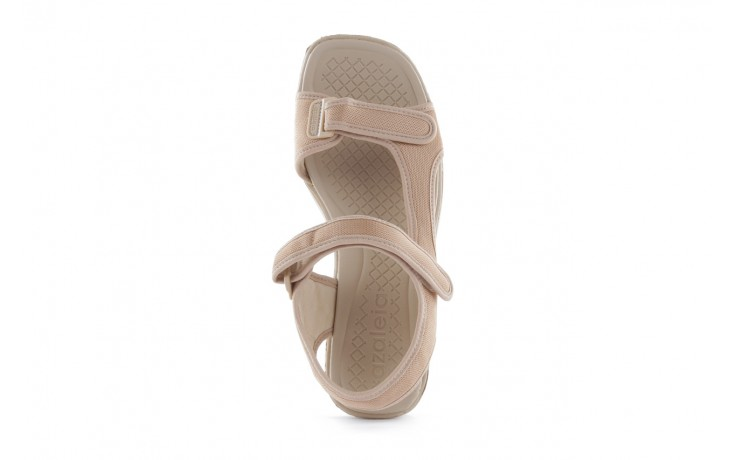 Sandały azaleia 320 323 beige 18, beż, materiał - azaleia - nasze marki 4