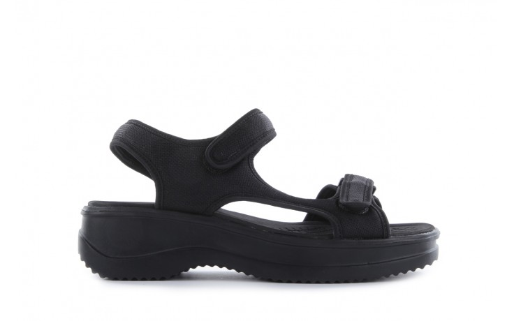 Sandały azaleia 320 323 black 18, czarny, materiał - azaleia - nasze marki