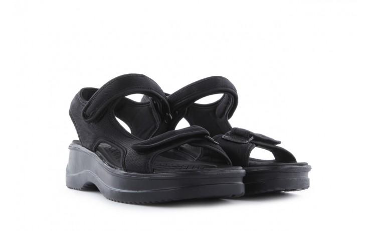 Sandały azaleia 320 323 black 18, czarny, materiał - azaleia - nasze marki 1