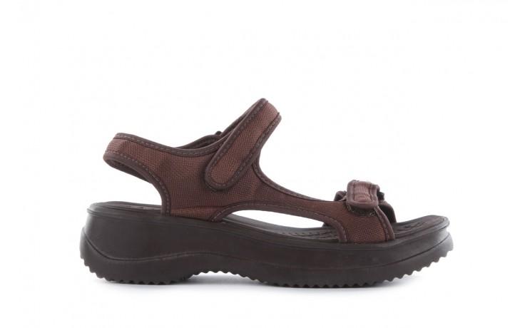 Sandały azaleia 320 323 brown 18, brąz, materiał - obuwie sportowe - buty damskie - kobieta