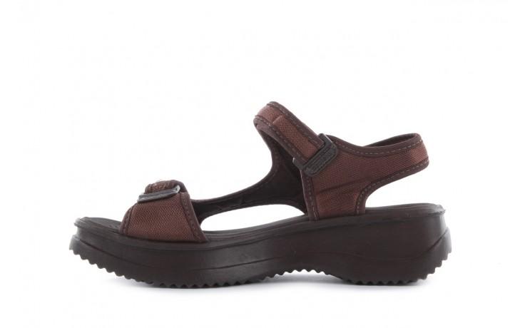 Sandały azaleia 320 323 brown 18, brąz, materiał - obuwie sportowe - buty damskie - kobieta 2