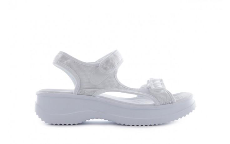 Sandały azaleia 320 323 white 18, biały, materiał - azaleia - nasze marki