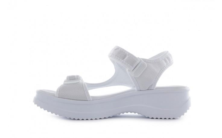 Sandały azaleia 320 323 white 18, biały, materiał - azaleia - nasze marki 2