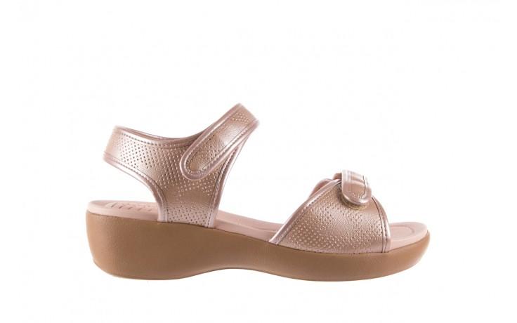 Sandały azaleia 346 601 perf iguan, beż, materiał - azaleia - nasze marki