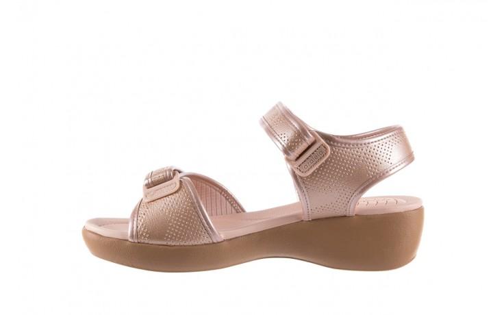 Sandały azaleia 346 601 perf iguan, beż, materiał - azaleia - nasze marki 2