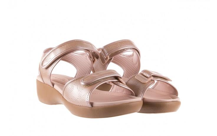 Sandały azaleia 346 601 perf iguan, beż, materiał - azaleia - nasze marki 1