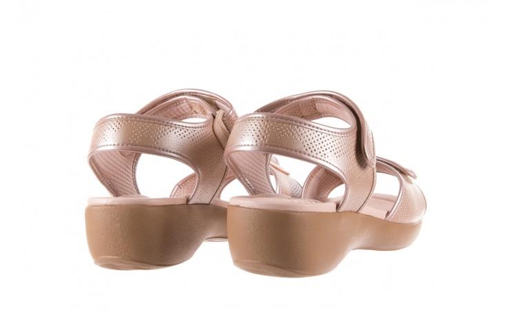 Sandały azaleia 346 601 perf iguan, beż, materiał - azaleia - nasze marki 3
