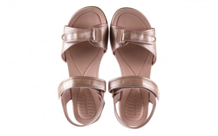 Sandały azaleia 346 601 perf iguan, beż, materiał - azaleia - nasze marki 4