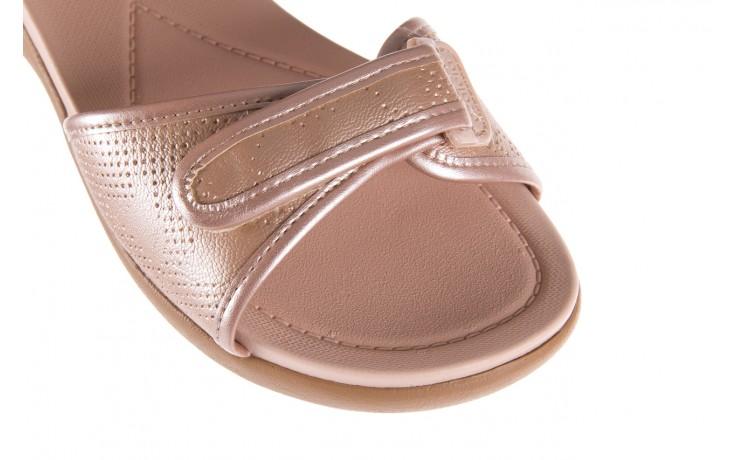 Sandały azaleia 346 601 perf iguan, beż, materiał - azaleia - nasze marki 6