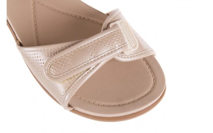 Sandały azaleia 346 601 perf ivory, beż, materiał  - azaleia - nasze marki 5
