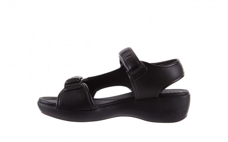 Sandały azaleia 346 602 napa black, czarny, materiał  - azaleia - nasze marki 2