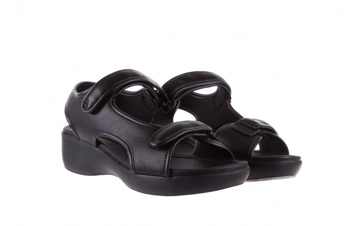 Sandały azaleia 346 602 napa black, czarny, materiał  - azaleia - nasze marki 1