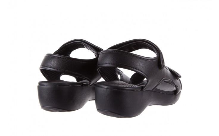 Sandały azaleia 346 602 napa black, czarny, materiał  - azaleia - nasze marki 3