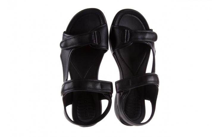 Sandały azaleia 346 602 napa black, czarny, materiał  - azaleia - nasze marki 4