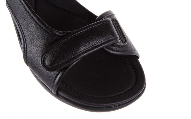 Sandały azaleia 346 602 napa black, czarny, materiał  - azaleia - nasze marki 6