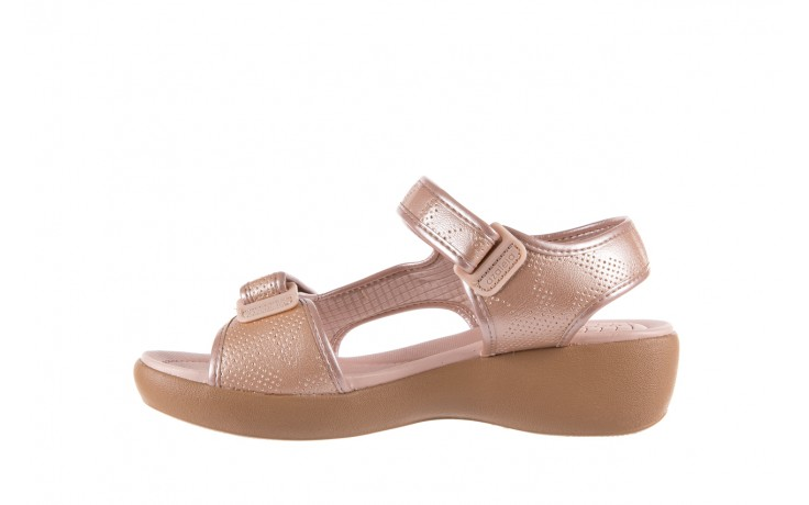 Sandały azaleia 346 602 perf iguan, róż, materiał - sandały - letnie hity cenowe 2