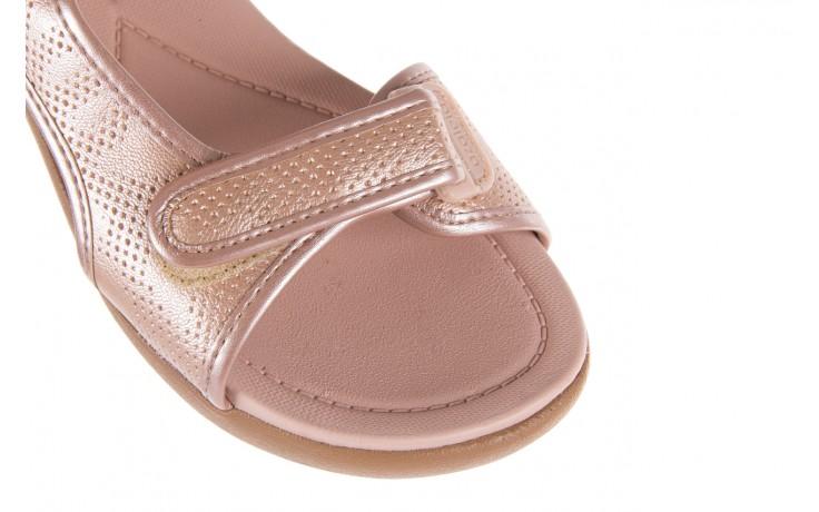 Sandały azaleia 346 602 perf iguan, róż, materiał - sandały - letnie hity cenowe 6
