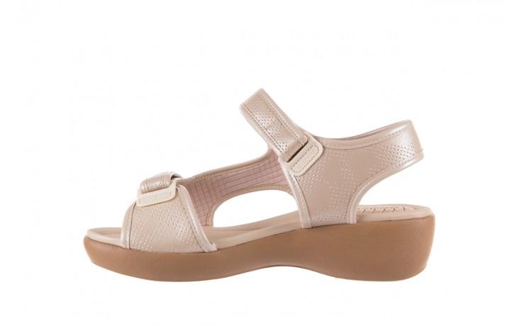 Sandały azaleia 346 602 perf ivory, beż, materiał - azaleia - nasze marki 2