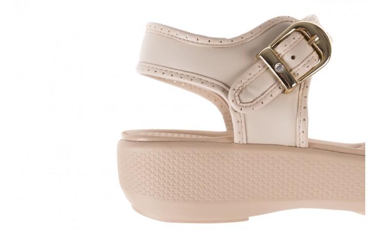 Sandały azaleia 355 788 napa ivory, beż, materiał - sandały - letnie hity cenowe 6
