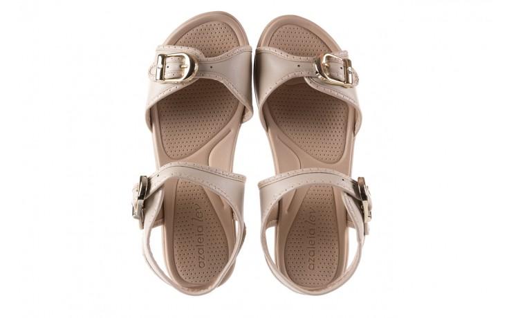 Sandały azaleia 355 788 napa ivory, beż, materiał - sandały - letnie hity cenowe 3