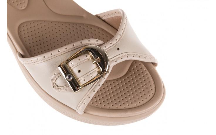 Sandały azaleia 355 788 napa ivory, beż, materiał - sandały - letnie hity cenowe 5
