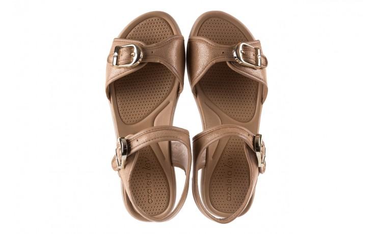 Sandały azaleia 355 789 point beige, beż, materiał - sandały - letnie hity cenowe 4