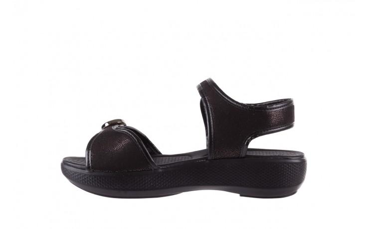 Sandały azaleia 355 789 point black, czarny, materiał - azaleia - nasze marki 2