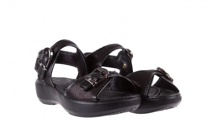 Sandały azaleia 355 789 point black, czarny, materiał - azaleia - nasze marki 1